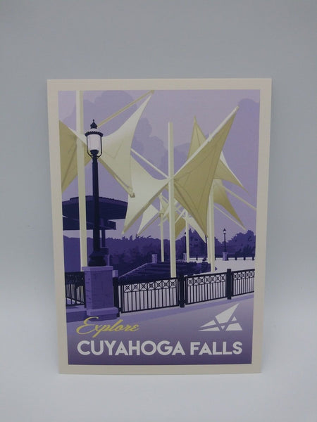 Postcard Set of 12 Explore Cuyahoga Falls Postcards