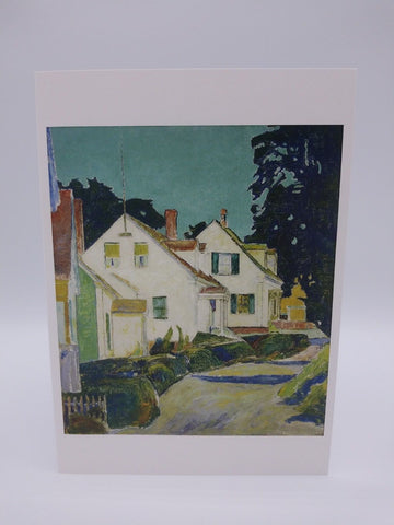 Note Card Featuring Provincetown by Ora Coltman
