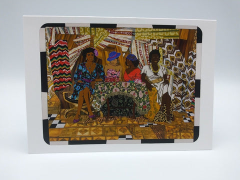 Set of 6 Note Cards Featuring Girlfriends and Lovers by Mickalene Thomas