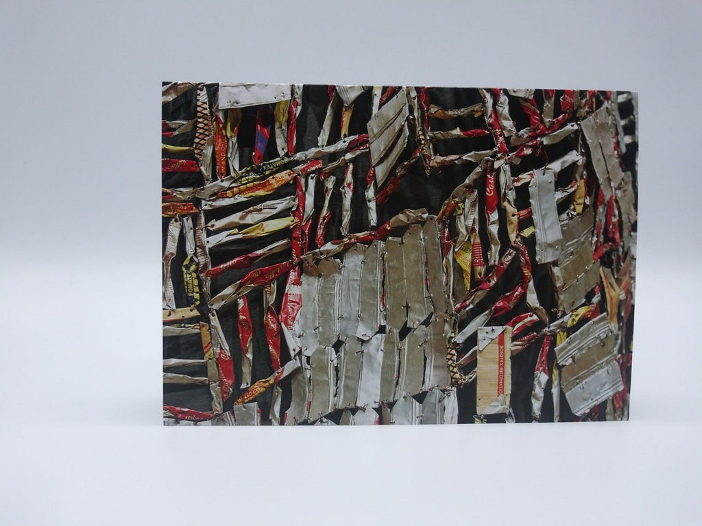 Note Card Featuring Ozone by El Anatsui