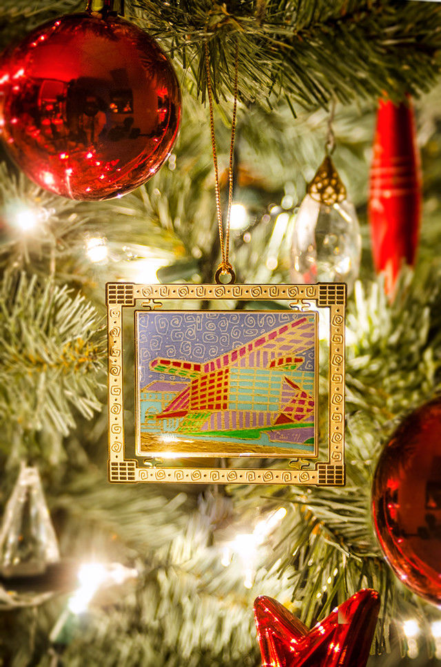 Akron Art Museum Ornament By Cari Miller