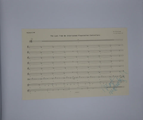 Mark Mothersbaugh Signed Sheet Music