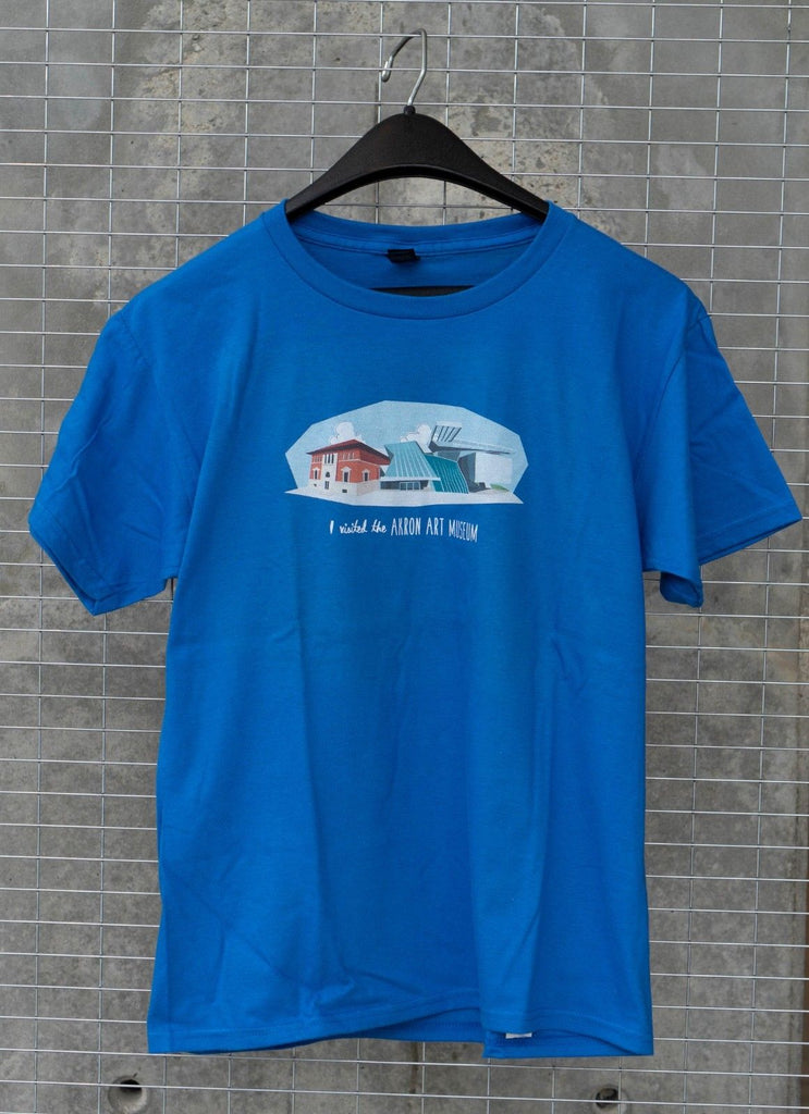 Kids T-Shirt Blue Akron Art Museum