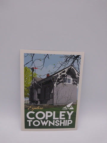 Postcard Set of 12 Explore Copley Township Postcards