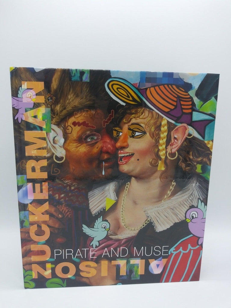 Allison Zuckerman: Pirate And Muse (hardcover, 2018) signed