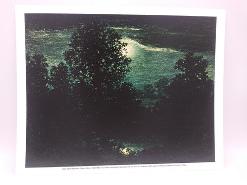 Diana's Mirror Print by Ralph Albert Blakelock