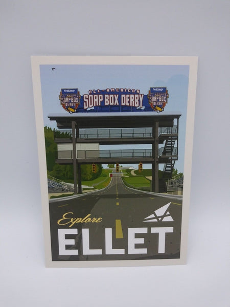 Postcard Set of 12 Explore Ellet Postcards