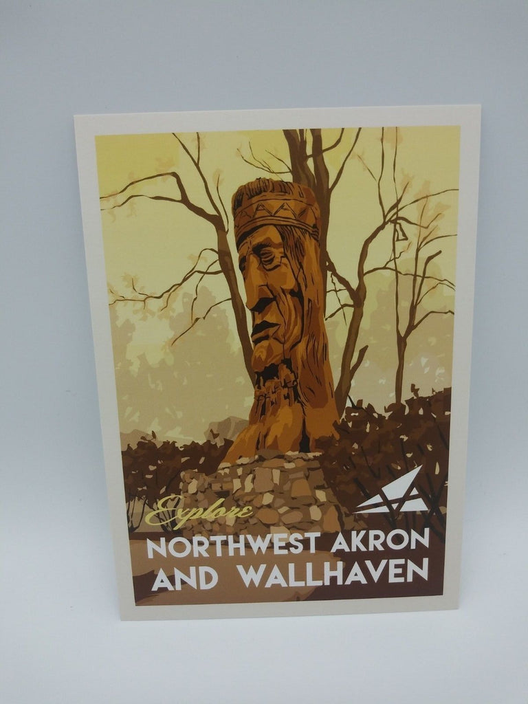 Postcard Set of 12 Explore Northwest Akron and Wallhaven Postcards