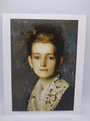 Miss Molly Duveneck Print by Frank Duveneck