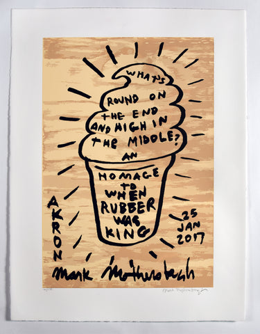 An Homage to When Rubber Was King by Mark Mothersbaugh