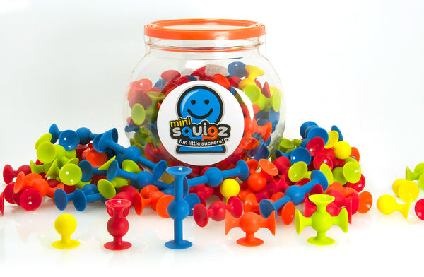 Mini Squigz from Fat Brain Toy Co.