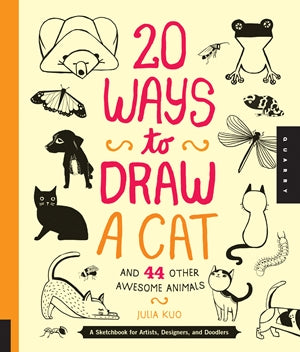20 Ways To Draw A Cat And 44 Other Awesome Animals - by Julia Kuo