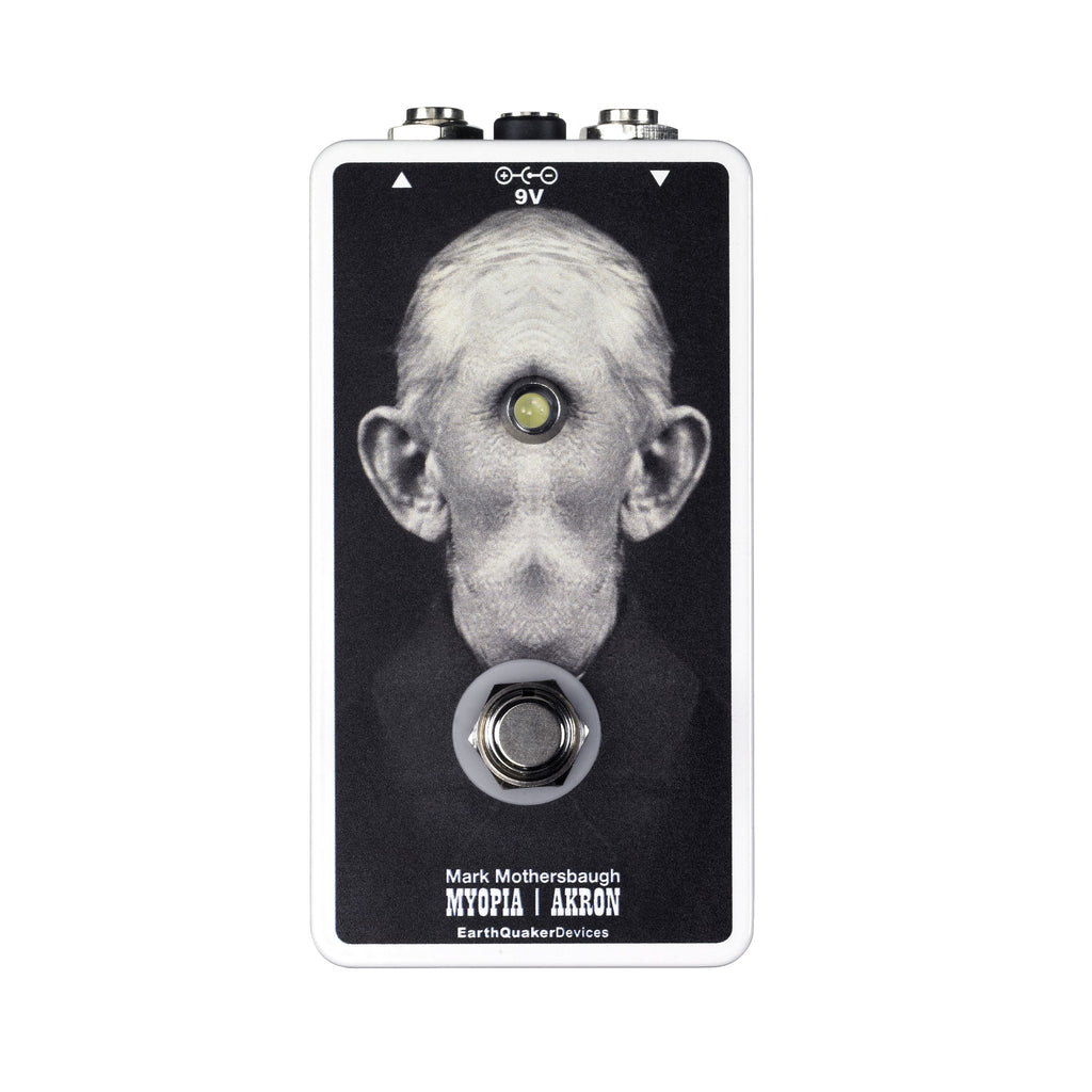 EarthQuaker Devices Tentacle Guitar Pedal Featuring Mark Mothersbaugh's Grandpa Cyclops