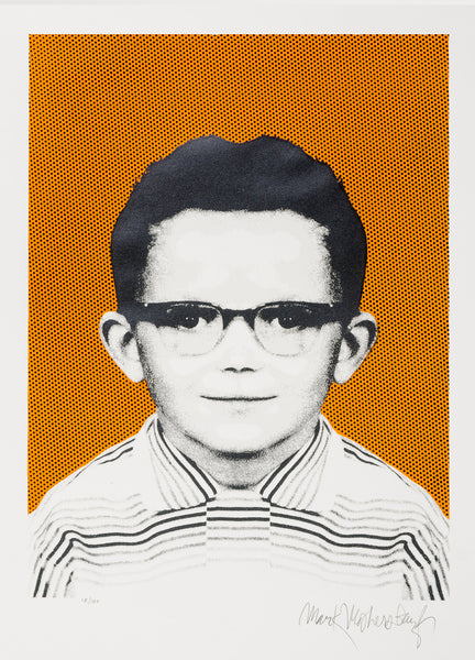 Limited Edition Print School Days 1958-59 Newberry (My First Pair of Glasses), Mark Mothersbaugh