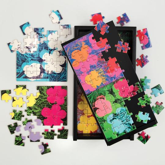 Andy Warhol Wooden Jigsaw Puzzle Set From Galison