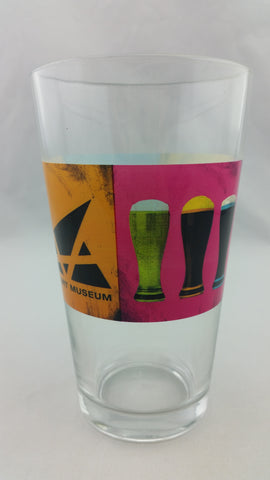 Art & Ale Pint Glass