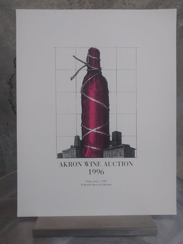 Vintage Auction Poster 1996