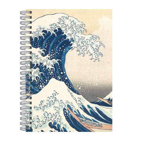 Hokusai Great Wave Wire - O Journal