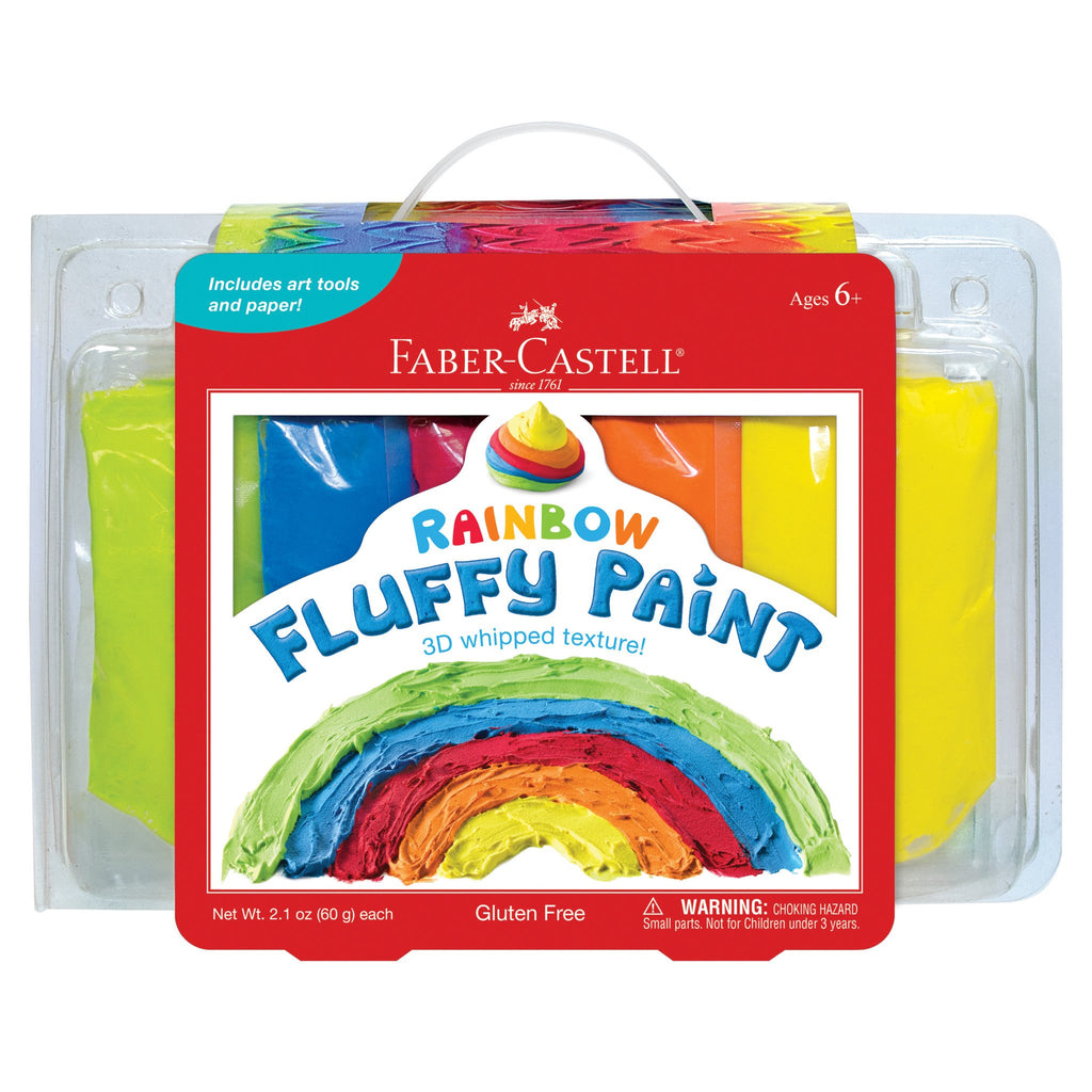 Fluffy Rainbow Paint - Faber Castell