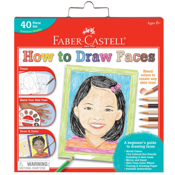 World Colors How To Draw Faces - Faber Castell