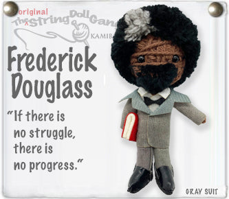 Frederick Douglass String Doll By Kamibashi