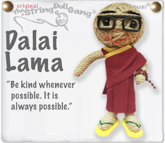 Dalai Lama String Doll By Kamibashi