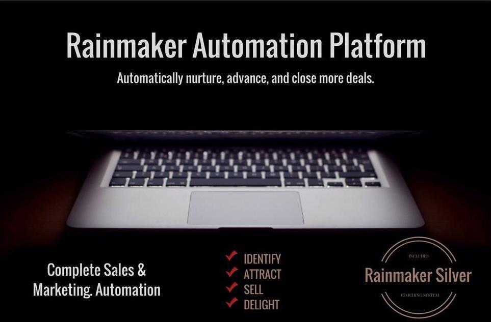 Rainmaker Sales Automation Platform Subscription - 2500 Contacts - Monthly