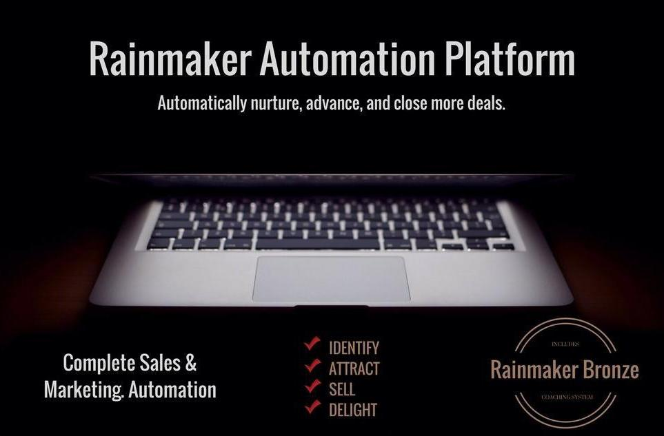 Rainmaker Sales Automation Platform Subscription - 1000 Contacts - Monthly
