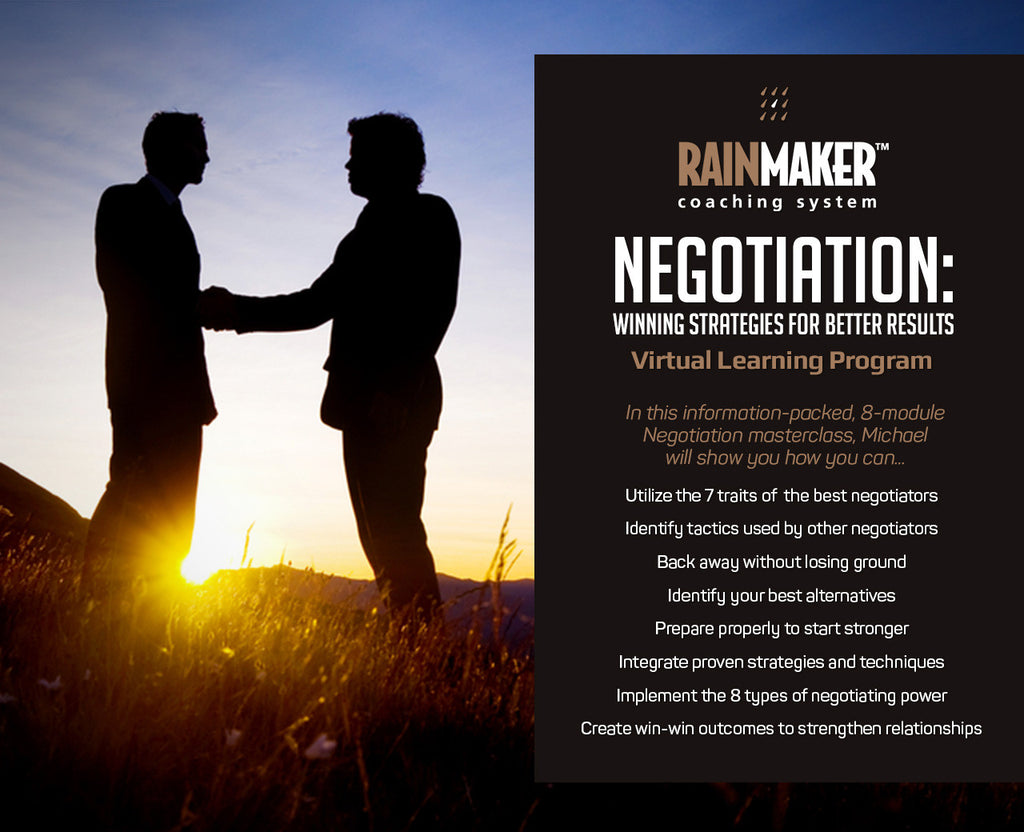Negotiation - Virtual Learning Program