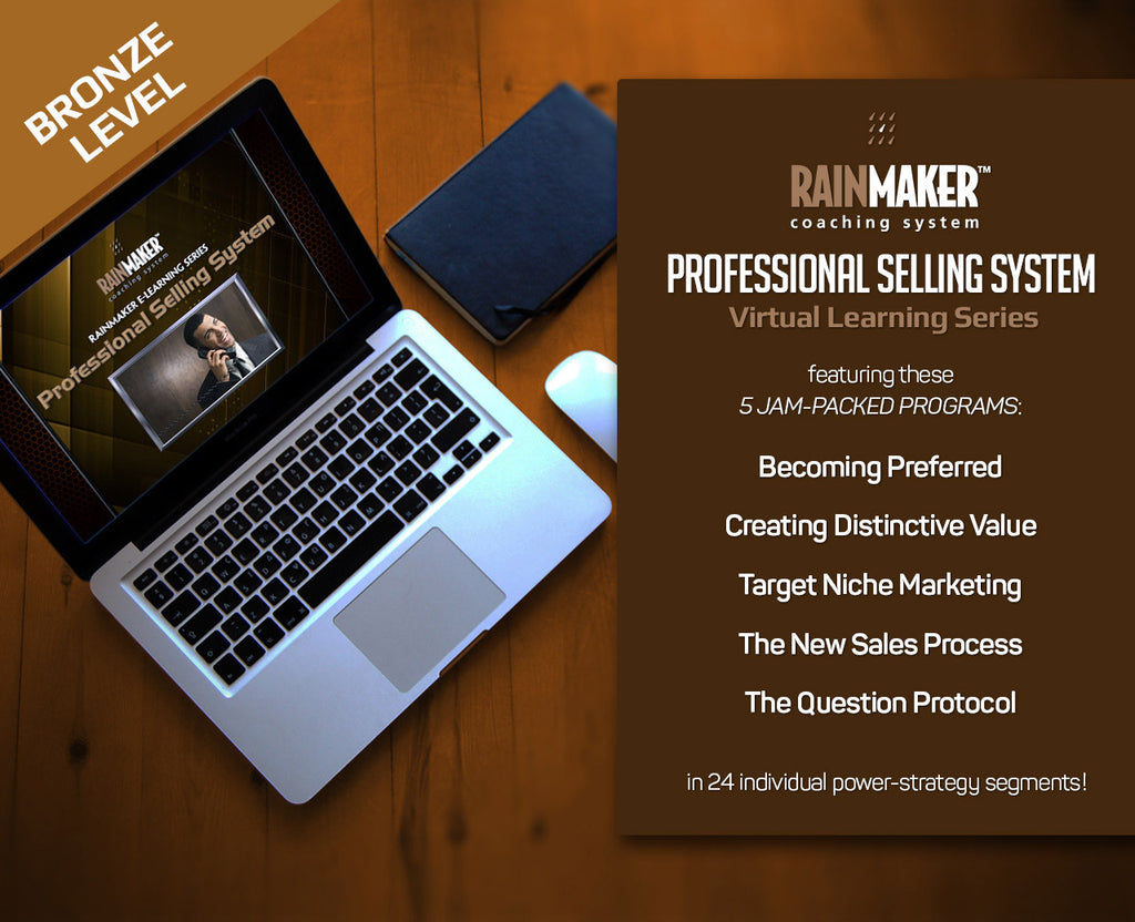 Rainmaker Professional Selling System - Bronze Level Monthly Subscription