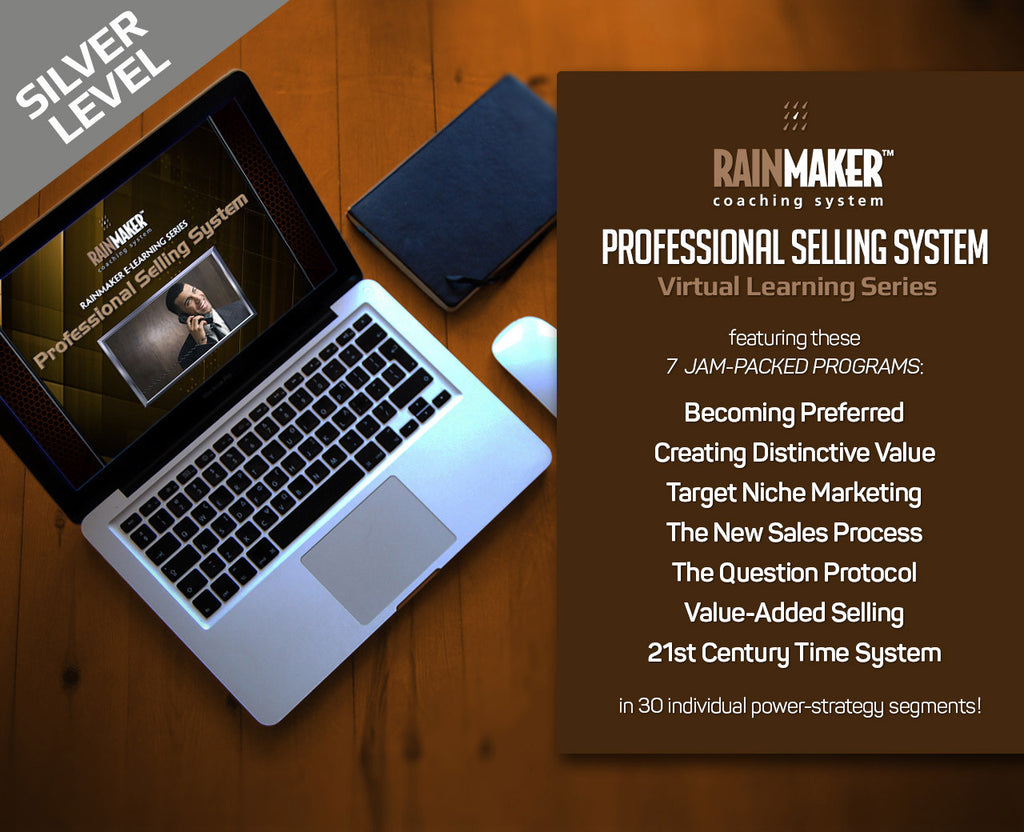 Rainmaker Professional Selling System - Silver Level Monthly Subscription