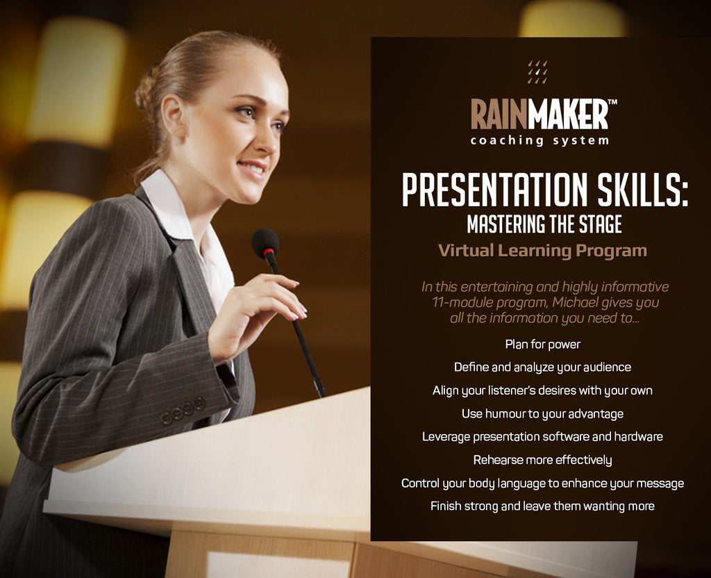 Presentation Skills - Virtual Learning Program