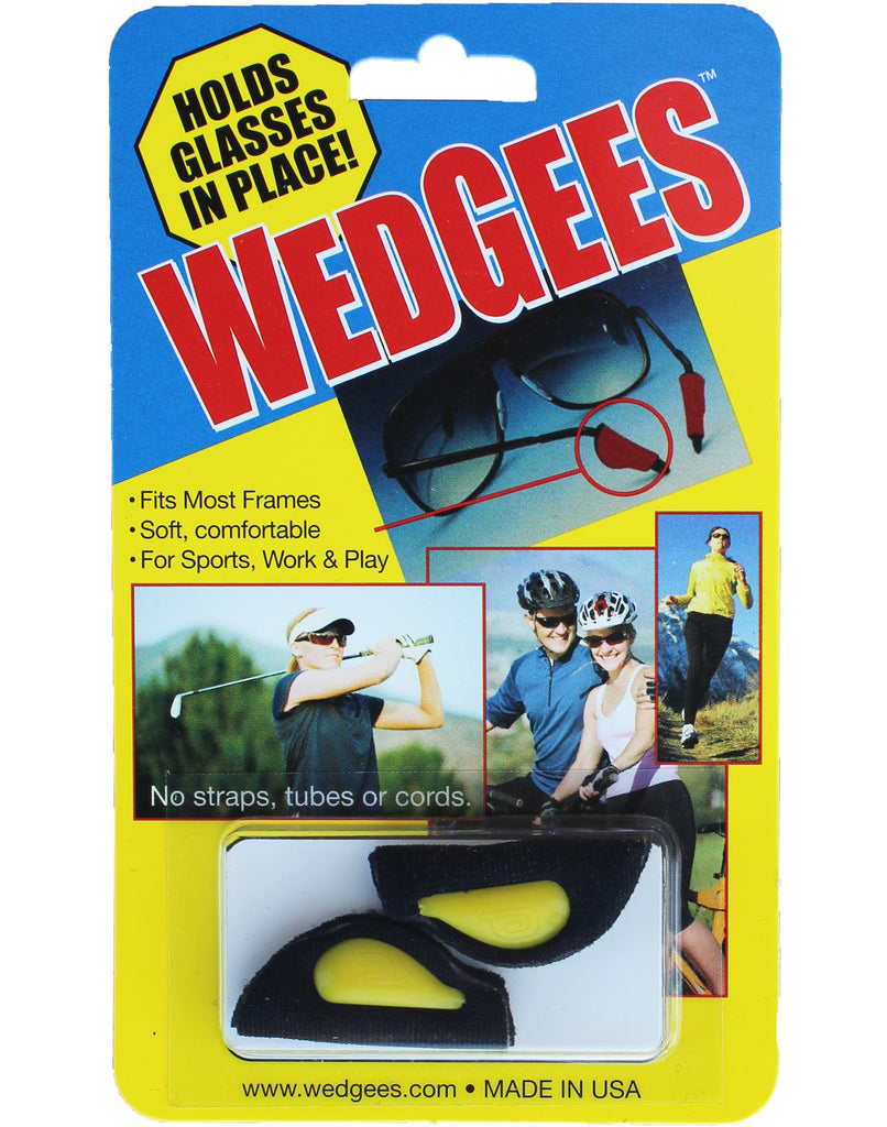 Wedgees - Riveted - Best for Small Temple Arms (Will Not Fit Large)