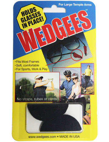 Wedgees Large - Fits Larger Glasses Temple Arms
