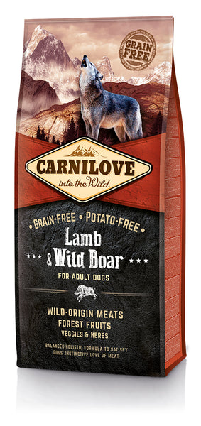 Carnilove Lamb Wild Boar Dog Food