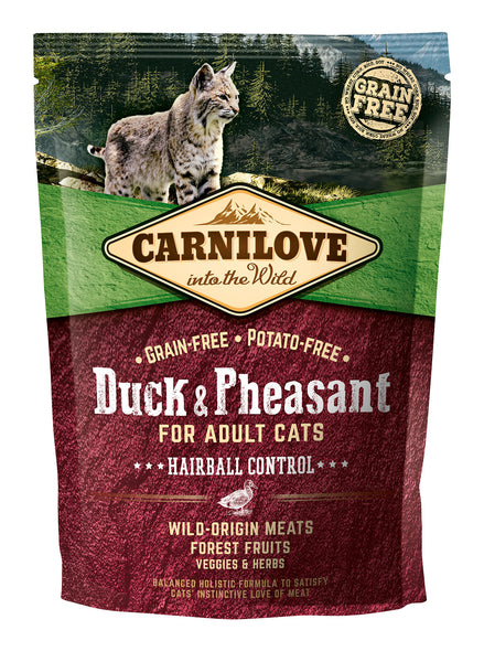 Carnilove Duck & Pheasant Complete Cat Food