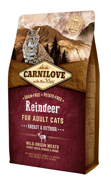 Carnilove Reindeer Adult Cat Food