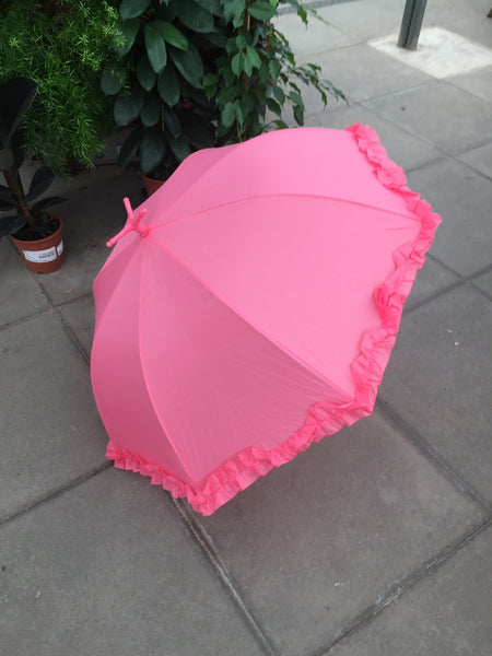 Fabulous Flamingo Frilly Umbrella