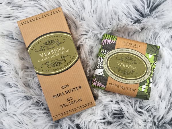Verbena Hand Cream Soap natural