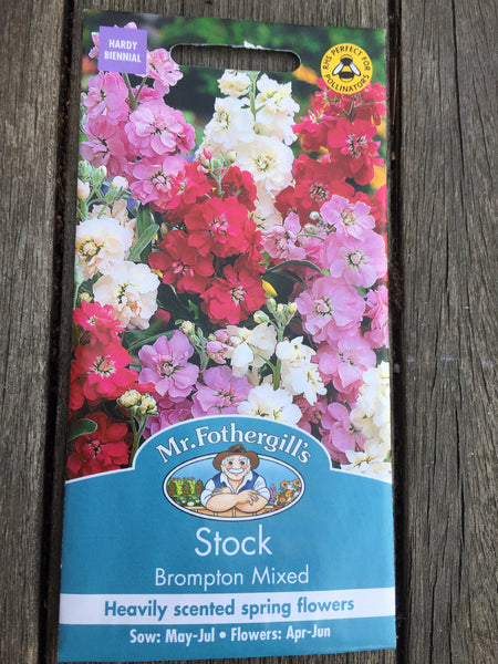 Stock Brompton Mixed Seeds by Mr Fothergill's