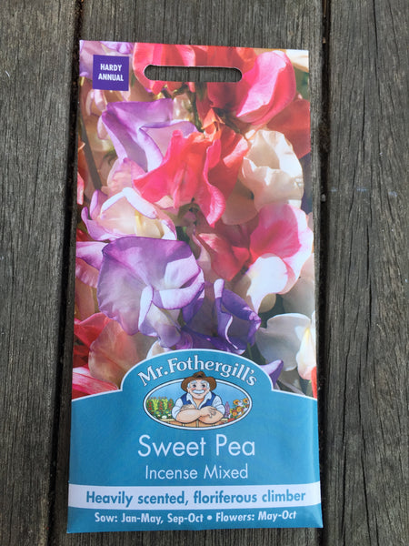 Sweet Pea Incense Mixed by Mr Fothergill's