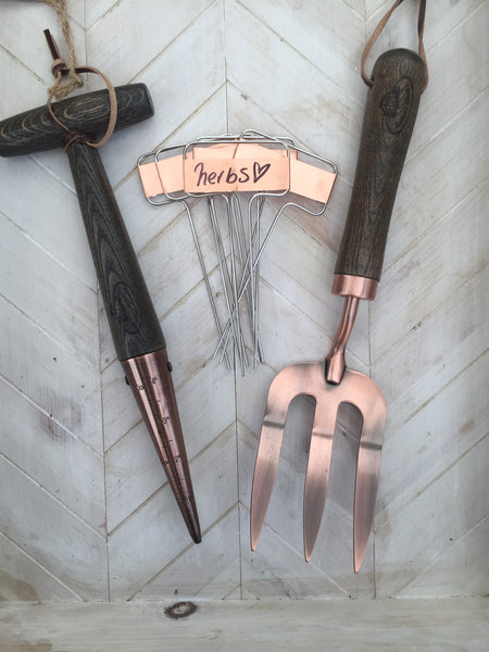 Copper Plated Garden Tool Kit