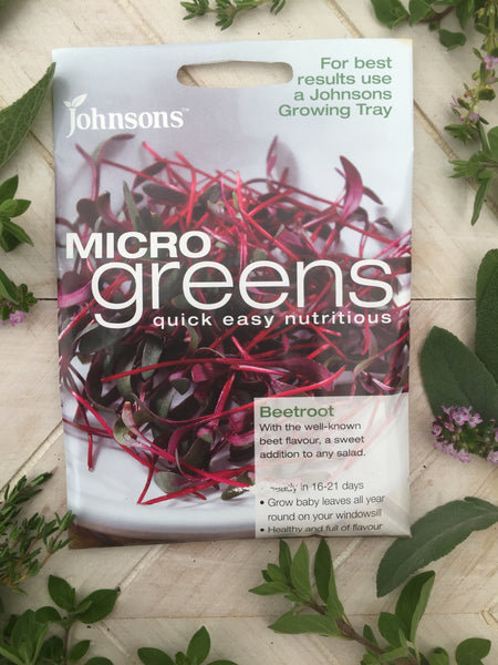 Micro greens beetroot seeds johnsons