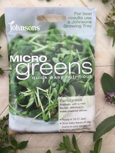 micro greens sprout seeds fenugreek johnsons