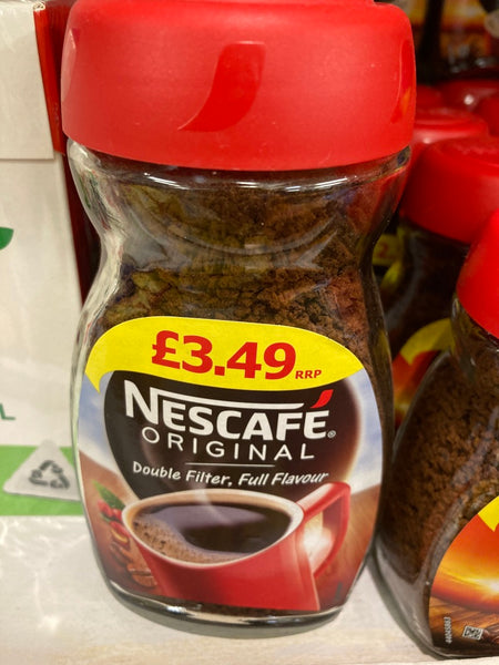 Nescafe original instant coffee- click and collect