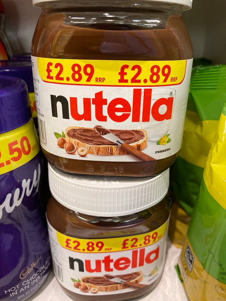 Nutella Spread Jar- Click & Collect