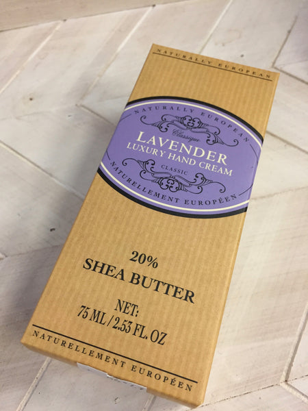 Lavender Hand Cream by Naturally European