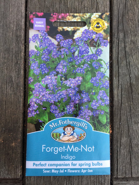 Forget-Me-Not Indigo Seed by Mr Fothergill's