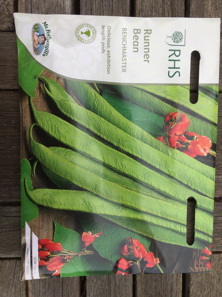 RHS Runner Bean Benchmaster seeds