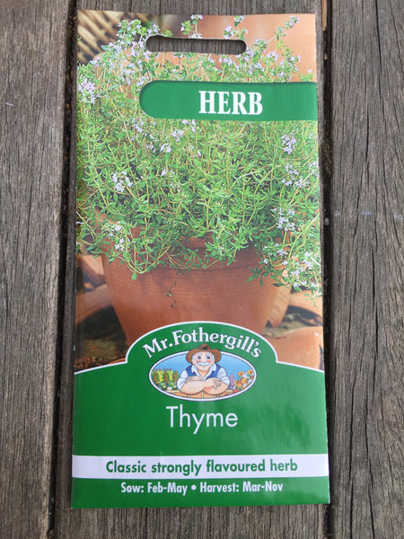 Mr Fothergill's Thyme seeds